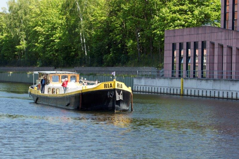 Die RIA im Teltow Kanal.