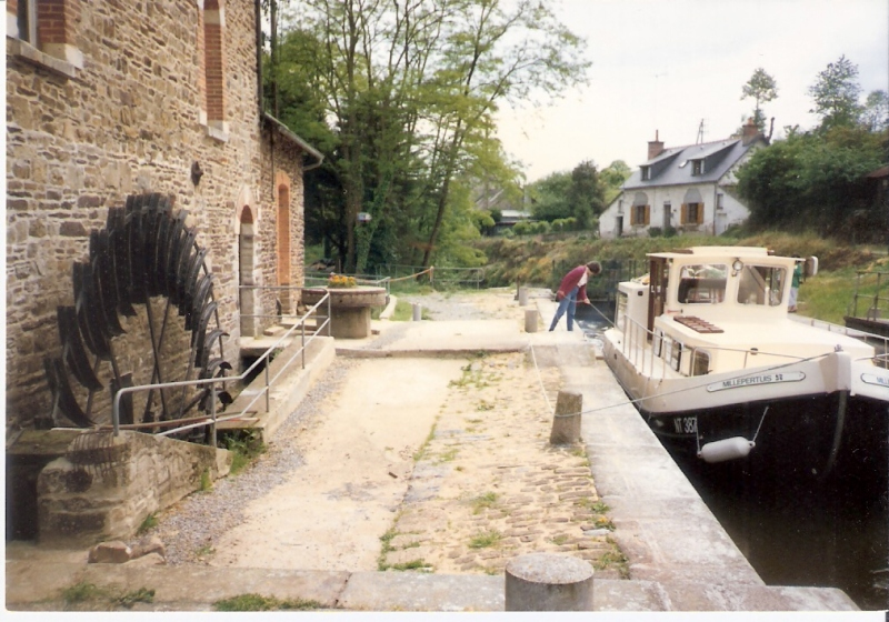 1997 - Mietboot im Aquitaine.