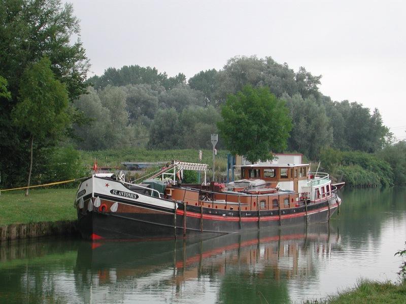 2004 - Luxe Motor St. Antonius - von Harlingen NL nach Verdun F.