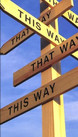 Wo ist der richtige Weg?