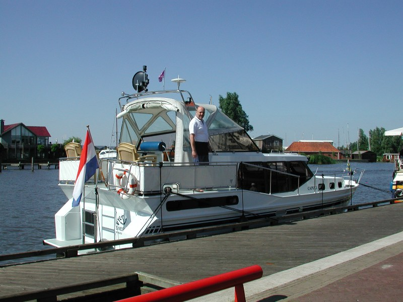 2003 - Mietboot in Friesland NL.